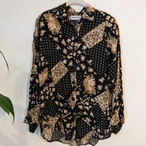 Vintage Apparenza Floral blouse